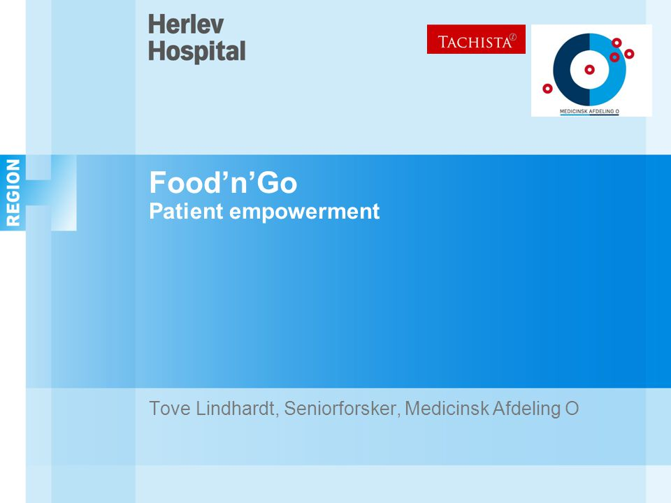 Food'n'Go Patient empowerment