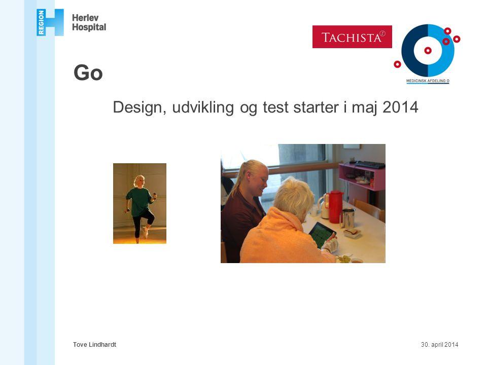Design, udvikling og test starter i maj 2014