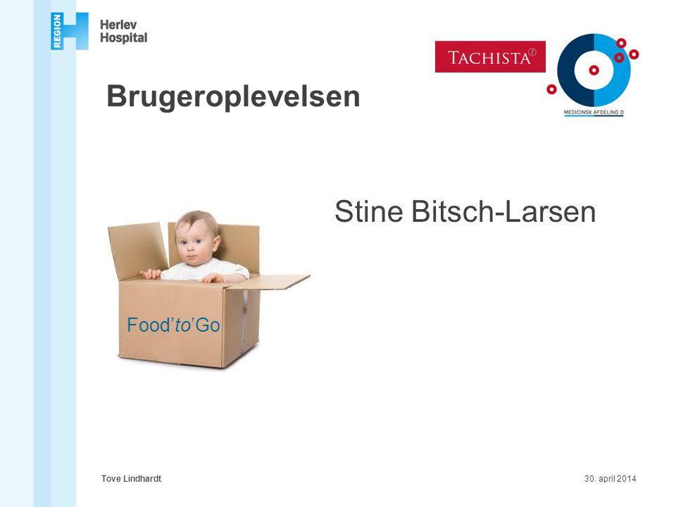 Brugeroplevelsen Stine Bitsch-Larsen Food'to'Go Tove Lindhardt