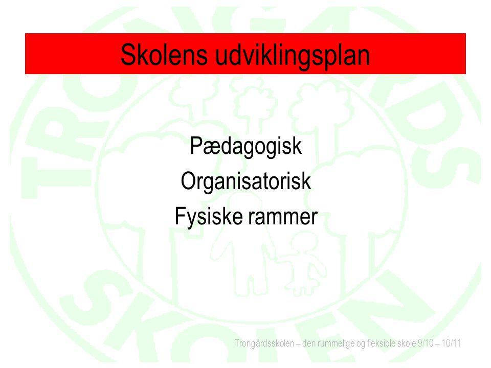 Skolens udviklingsplan