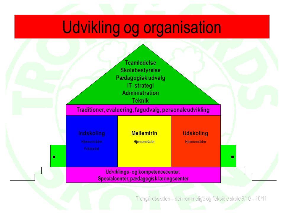 Udvikling og organisation