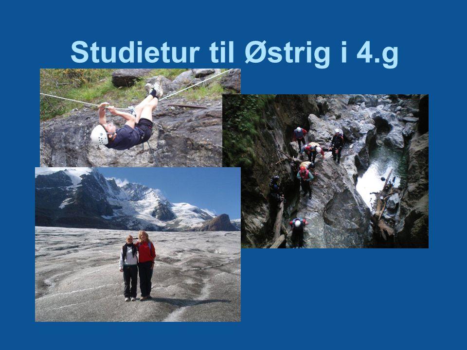 Studietur til Østrig i 4.g