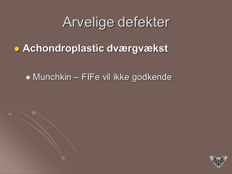 Arvelige defekter Achondroplastic dværgvækst
