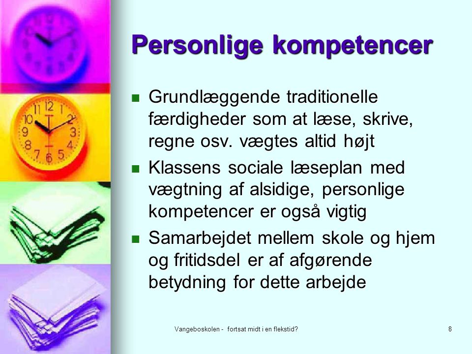 Personlige kompetencer