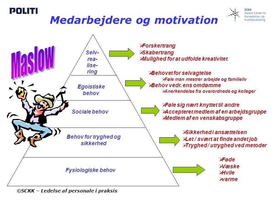 Medarbejdere og motivation