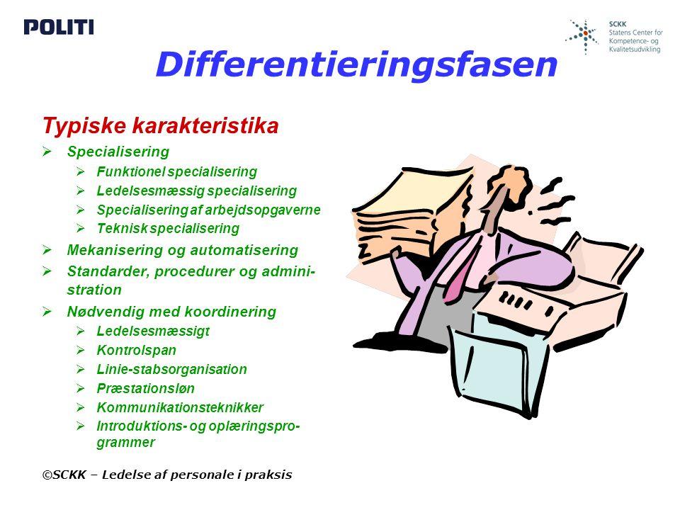 Differentieringsfasen