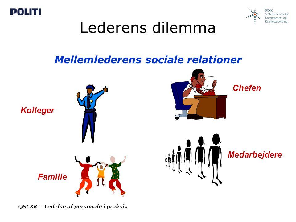 Mellemlederens sociale relationer