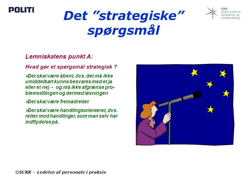 Det strategiske spørgsmål