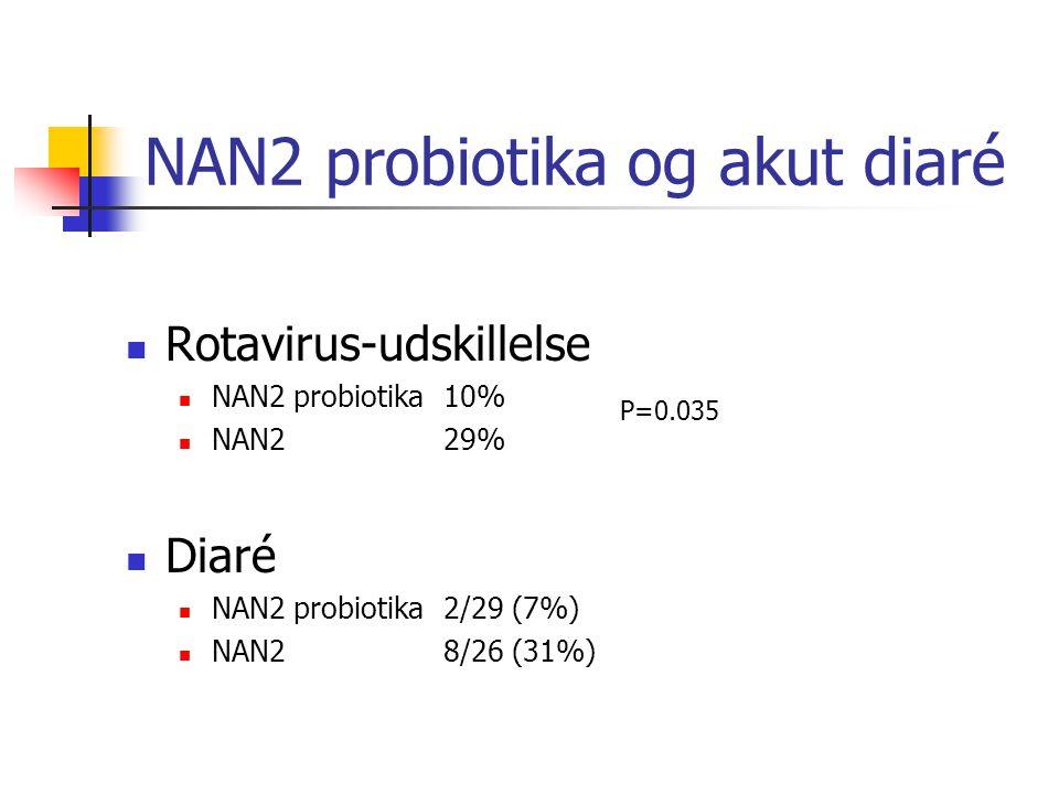 NAN2 probiotika og akut diaré