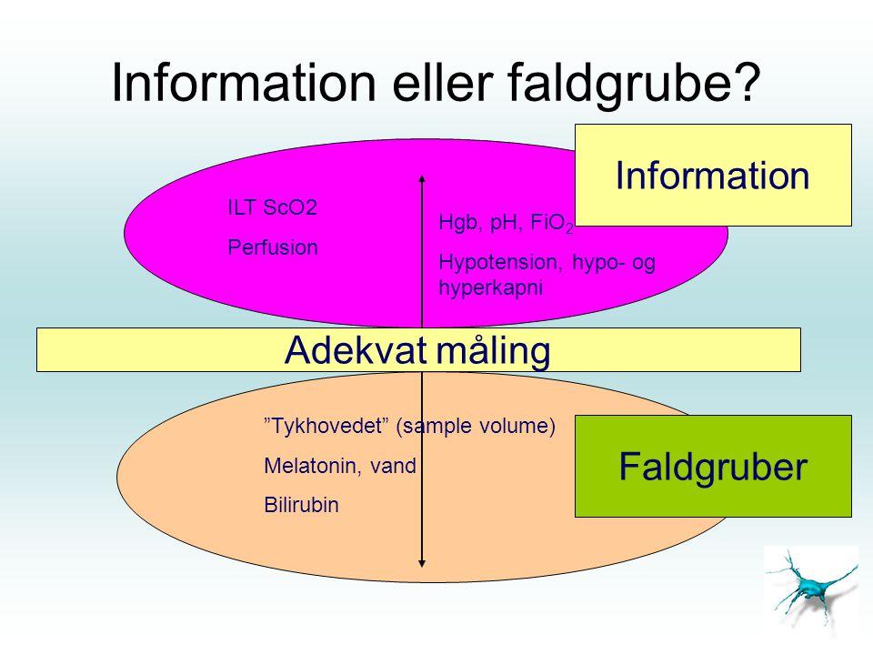 Information eller faldgrube