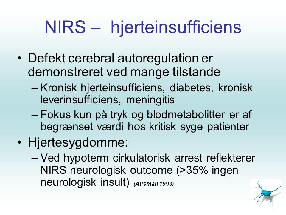 NIRS – hjerteinsufficiens