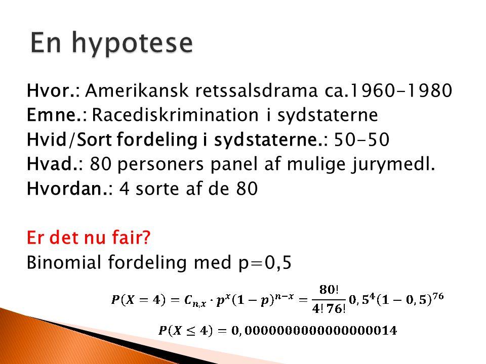 En hypotese