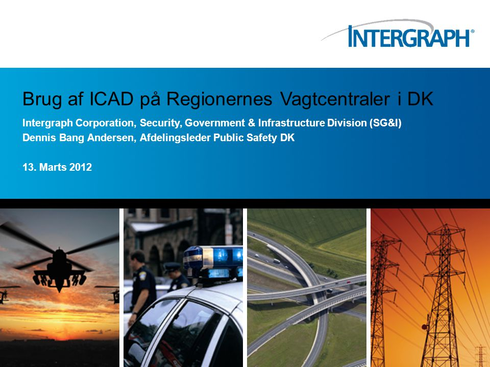 Brug af ICAD på Regionernes Vagtcentraler i DK