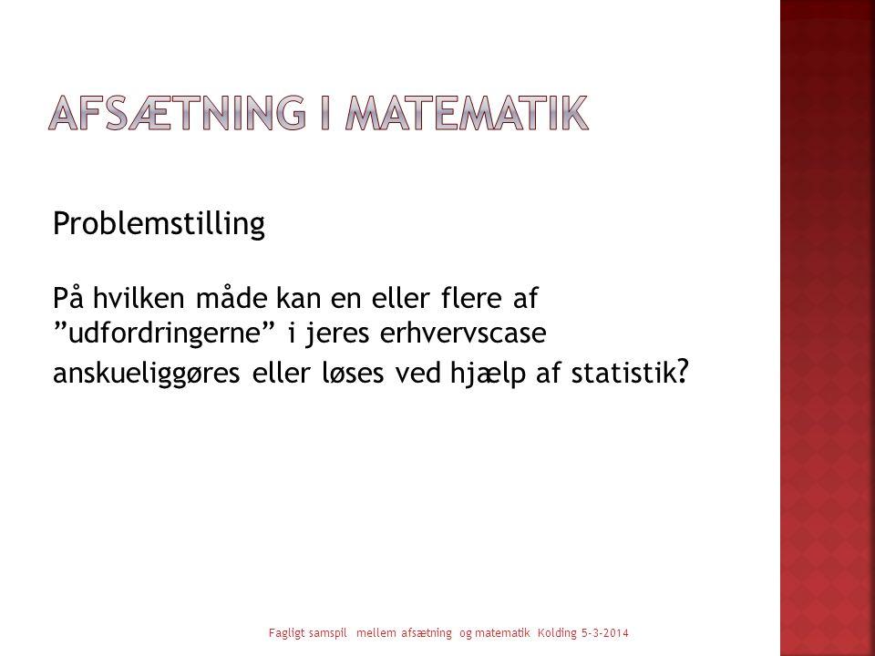 Afsætning i matematik
