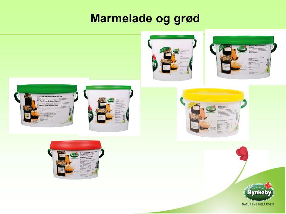 Marmelade og grød