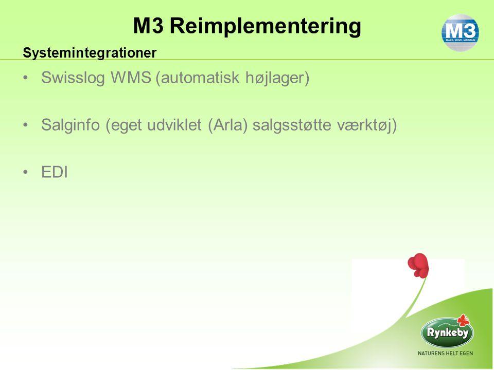 Swisslog WMS (automatisk højlager)