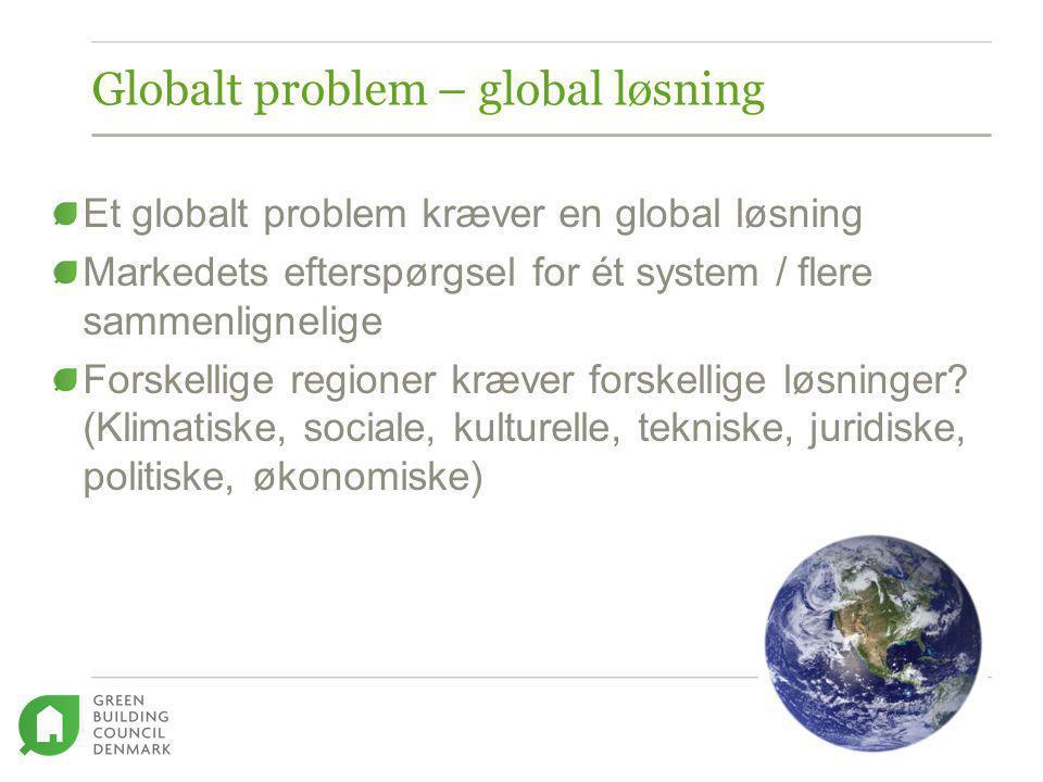 Globalt problem – global løsning