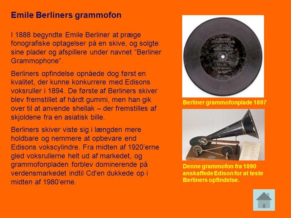 Emile Berliners grammofon