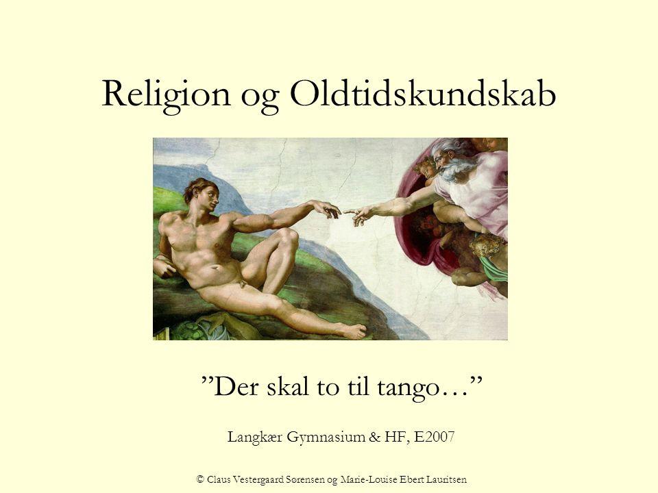Religion og Oldtidskundskab