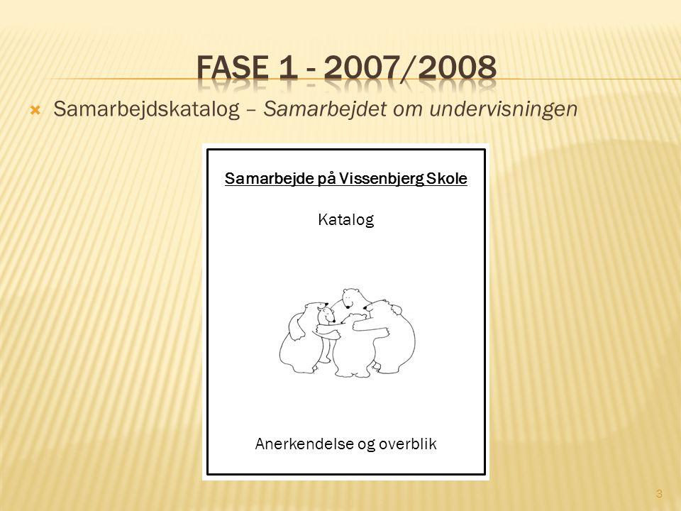 Samarbejde på Vissenbjerg Skole