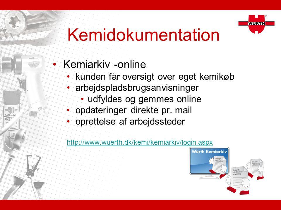 Kemidokumentation Kemiarkiv -online
