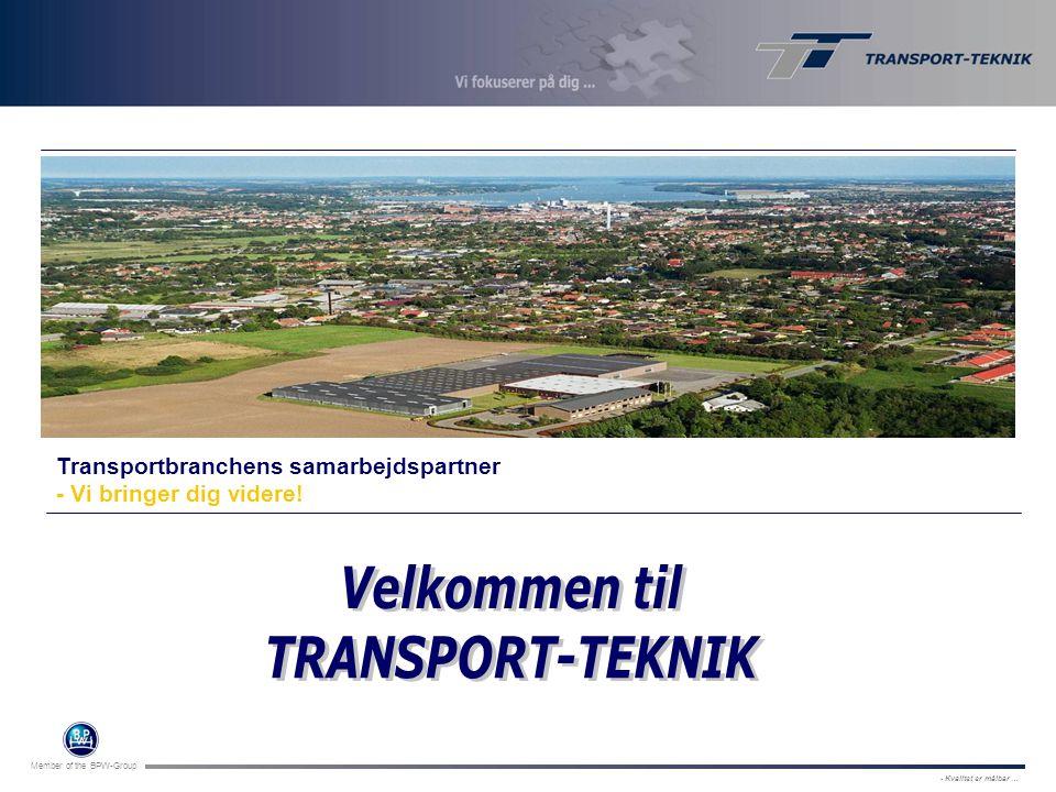 Velkommen til TRANSPORT-TEKNIK