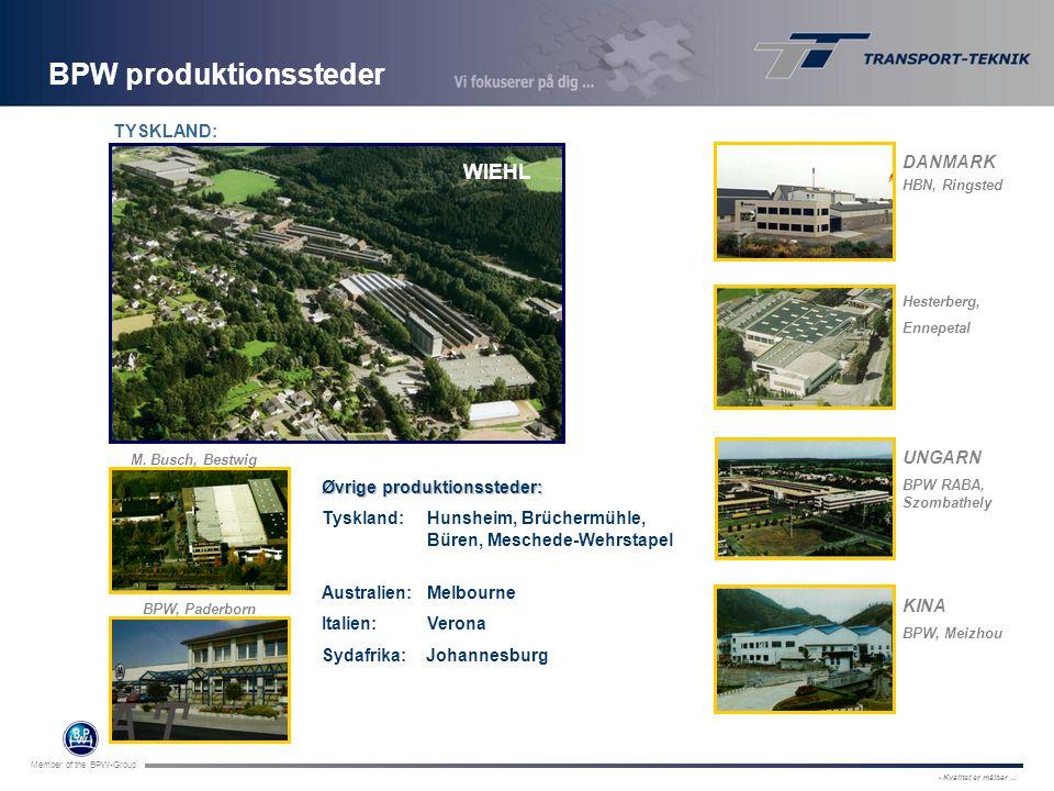 BPW produktionssteder