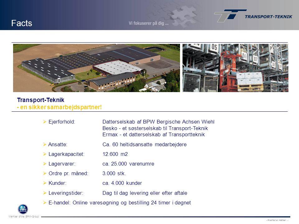 Facts Transport-Teknik - en sikker samarbejdspartner!
