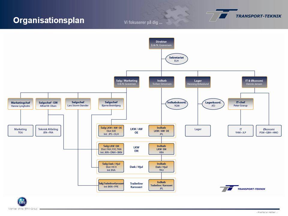 Organisationsplan