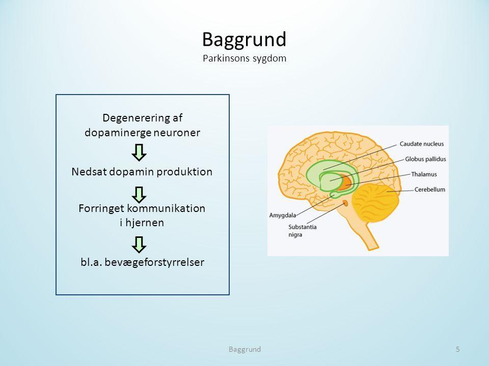 Baggrund Parkinsons sygdom