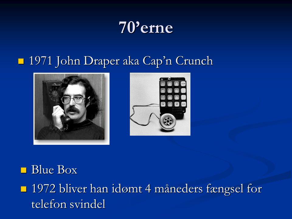 70'erne 1971 John Draper aka Cap'n Crunch Blue Box
