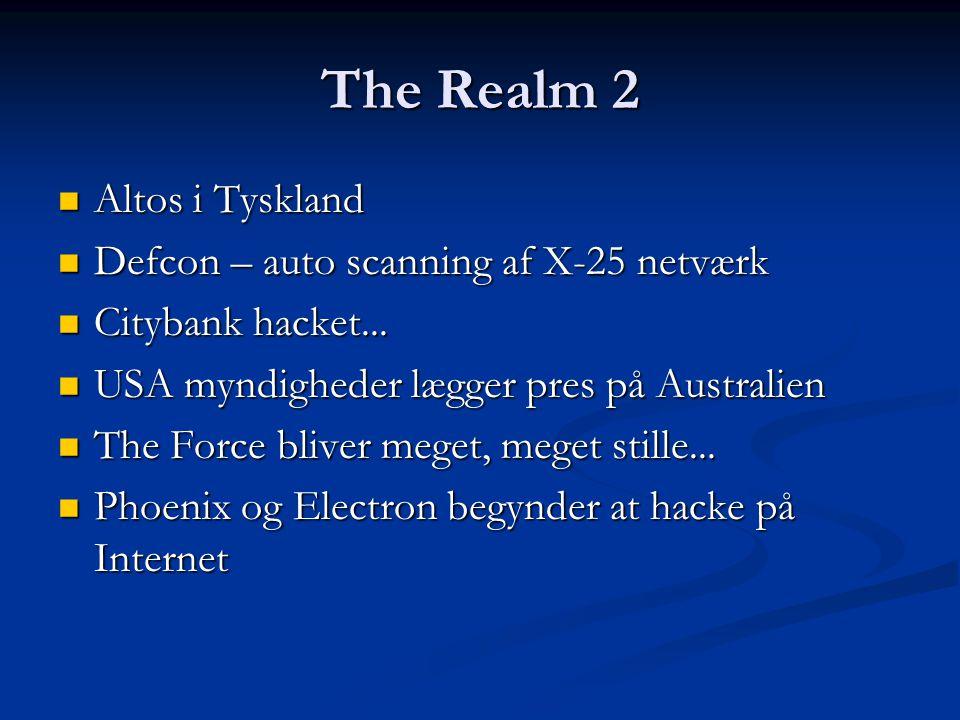 The Realm 2 Altos i Tyskland Defcon – auto scanning af X-25 netværk