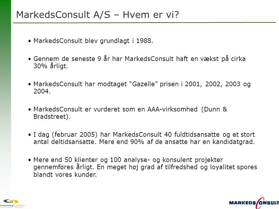 MarkedsConsult A/S – Hvem er vi