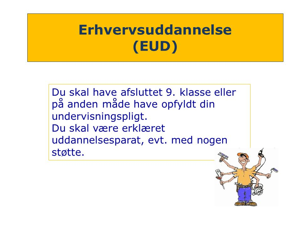 Erhvervsuddannelse (EUD)