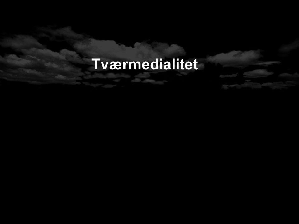 Tværmedialitet