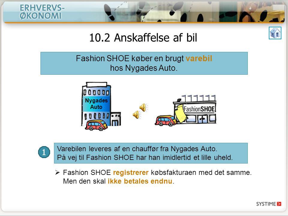 Fashion SHOE køber en brugt varebil hos Nygades Auto.