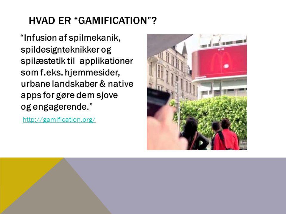 Hvad er gamification