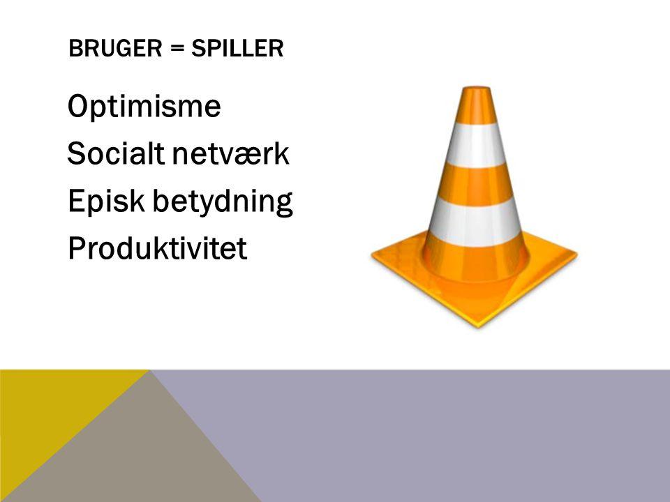 Optimisme Socialt netværk Episk betydning Produktivitet