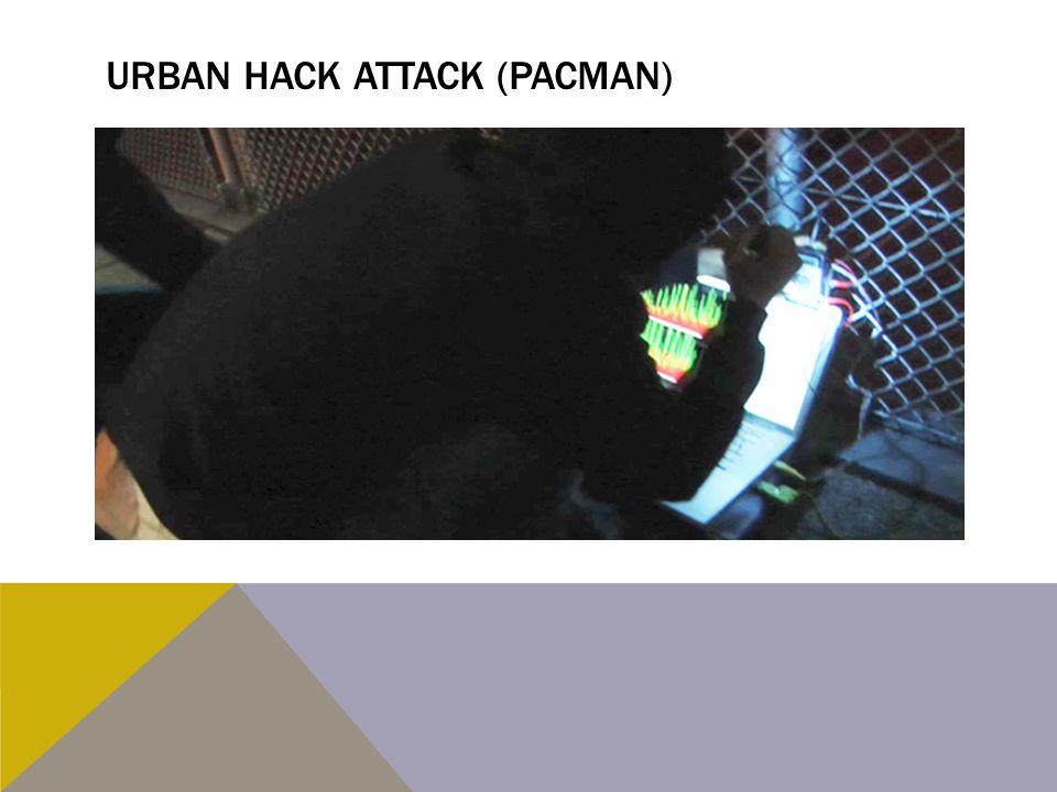 Urban hack attack (pacman)