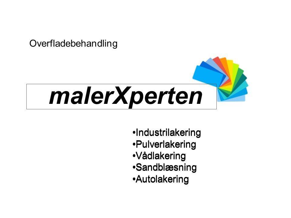 malerXperten Overfladebehandling Industrilakering Industrilakering