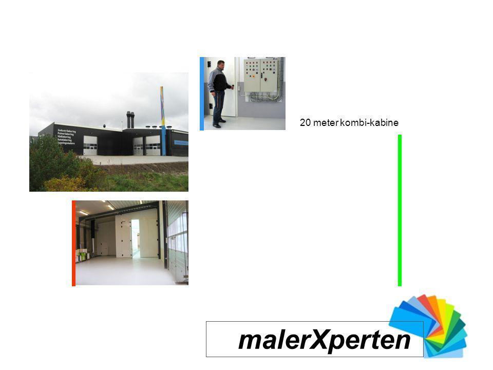 20 meter kombi-kabine malerXperten