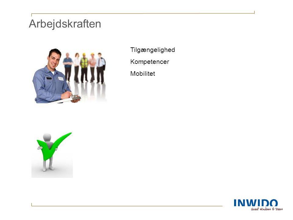 Arbejdskraften Tilgængelighed Kompetencer Mobilitet