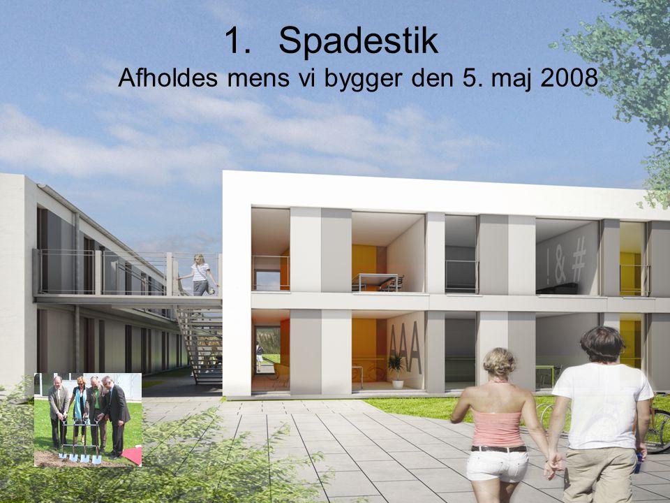 Spadestik Afholdes mens vi bygger den 5. maj 2008