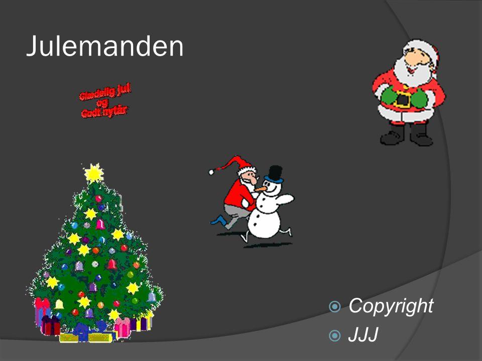 Julemanden Copyright JJJ