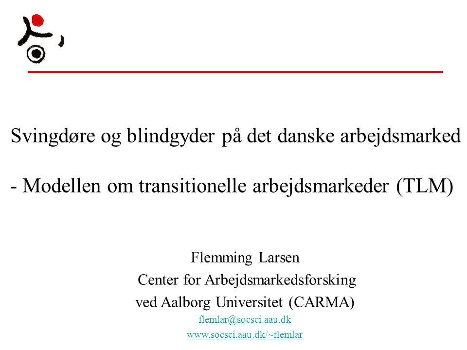 Svingdøre og blindgyder på det danske arbejdsmarked