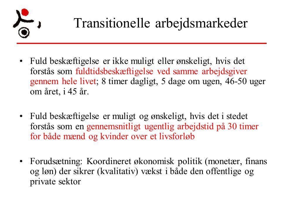 Transitionelle arbejdsmarkeder