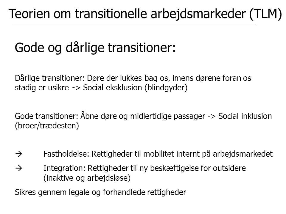 Teorien om transitionelle arbejdsmarkeder (TLM)