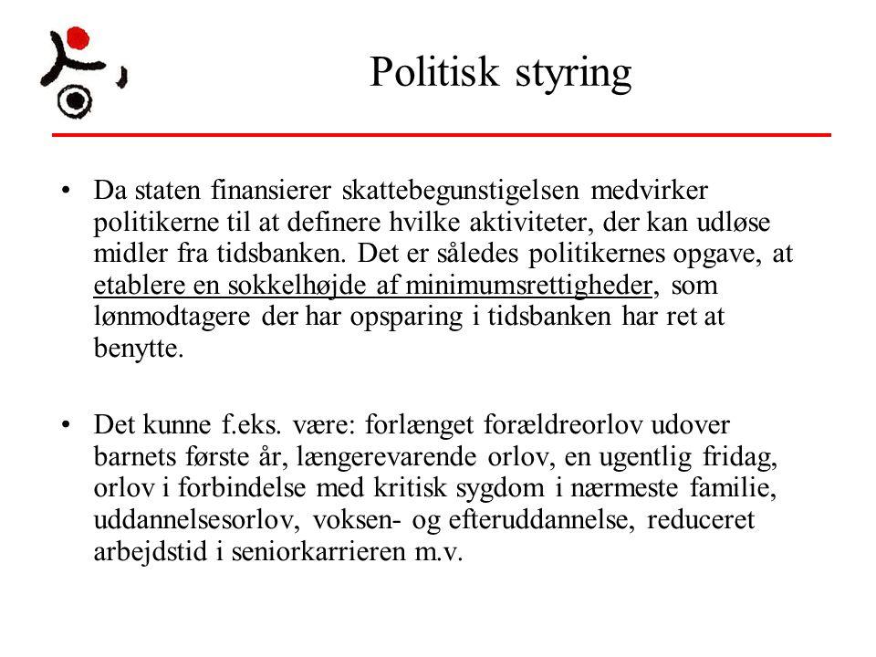 Politisk styring