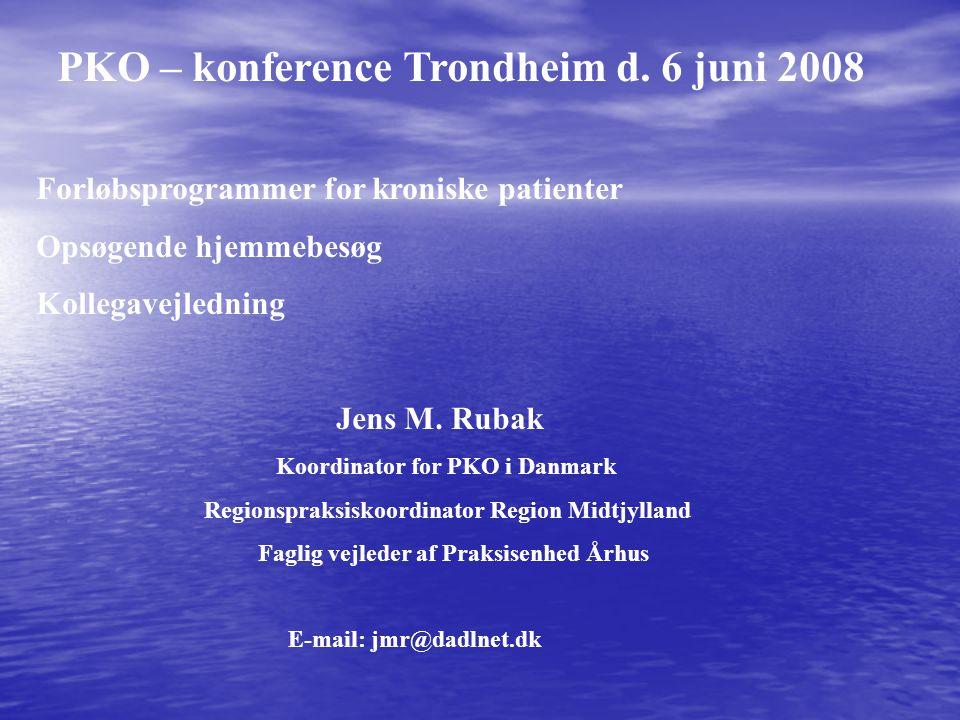 PKO – konference Trondheim d. 6 juni 2008