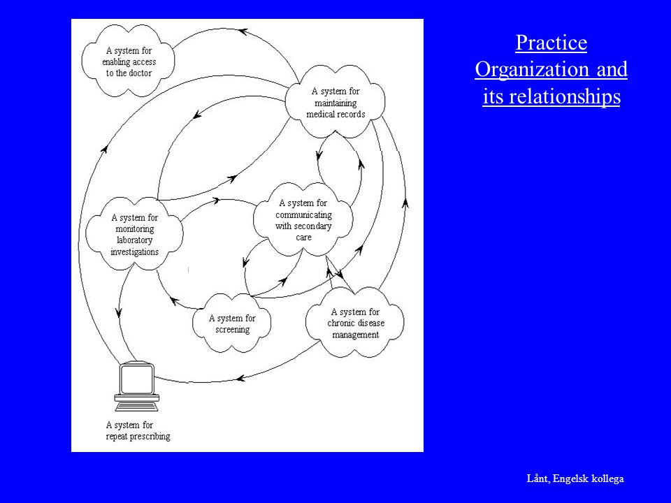 Practice Organization and its relationships